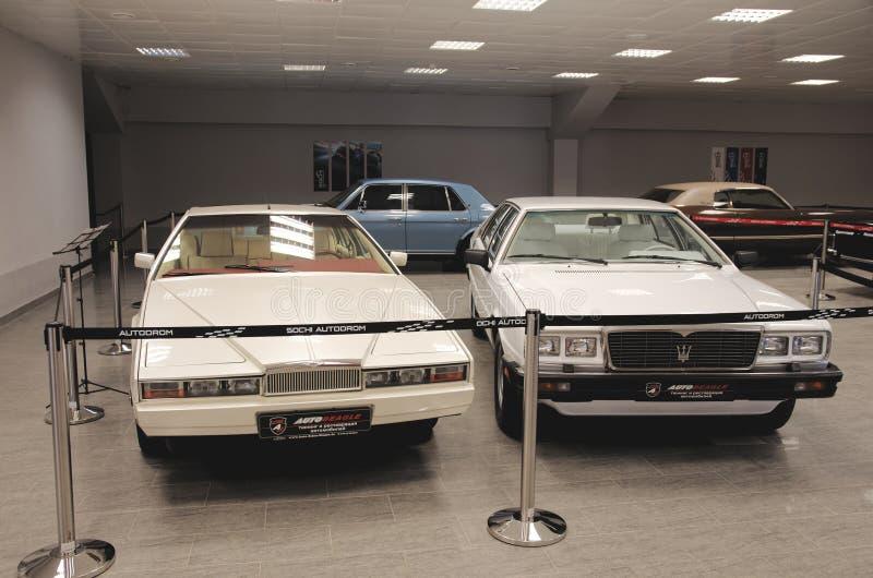 Download Aston Martin Lagonda Et Maserati Quattroporte Photo stock éditorial - Image du musée, aston: 56475228