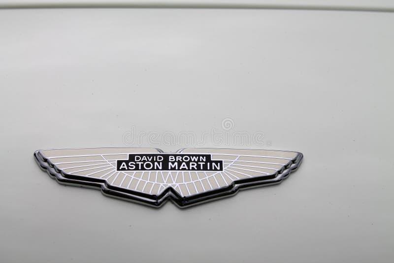 Aston Martin model Ghia przodu szczegółem zdjęcia stock