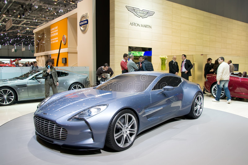 Aston Martin One-77 imagen de archivo