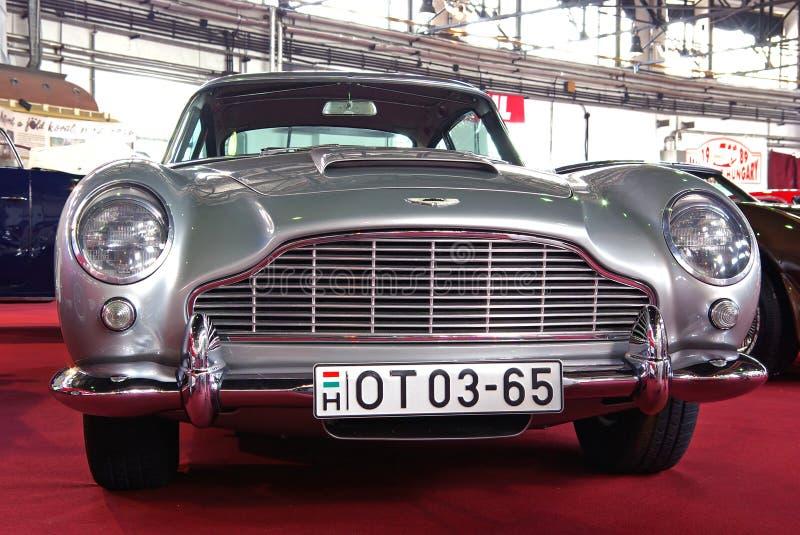 Aston Martin Portrait Editorial Stock Photo