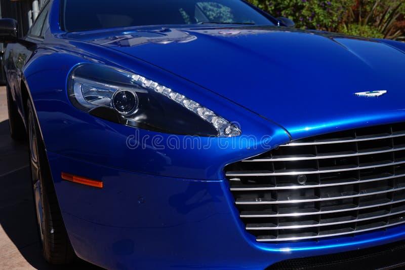 Aston Martin Rapide fotografía de archivo libre de regalías