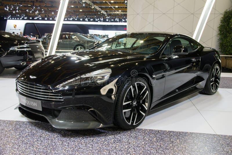 Aston Martin sgomina fotografie stock