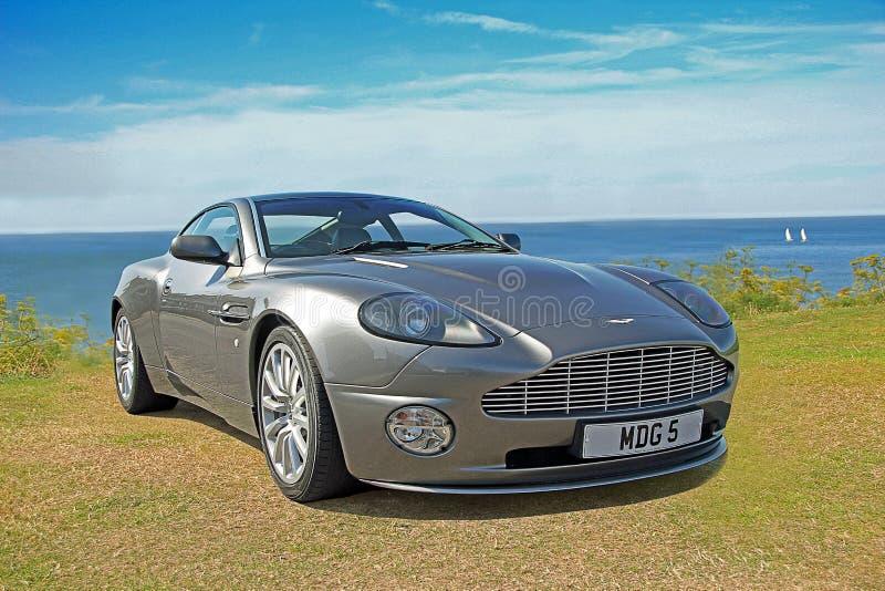 Aston Martin sgomina immagini stock