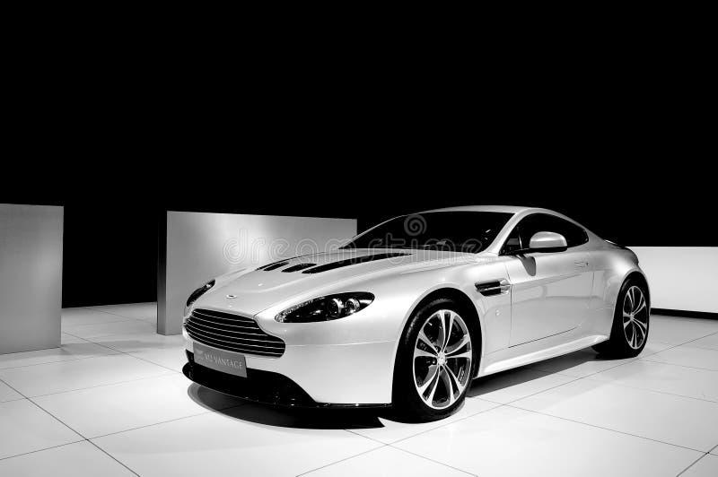 Aston Martin V12 ventajoso imagen de archivo