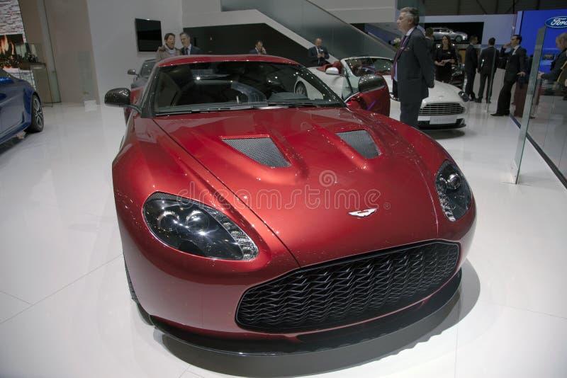 Aston Martin V12 Zagato royalty free stock photos