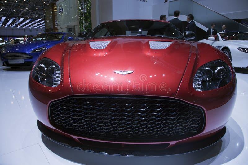 Aston Martin V12 Zagato royalty free stock image