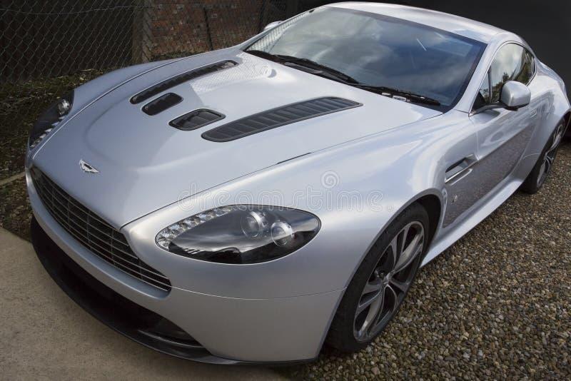 Aston Martin V8 avvantaggioso immagine stock libera da diritti