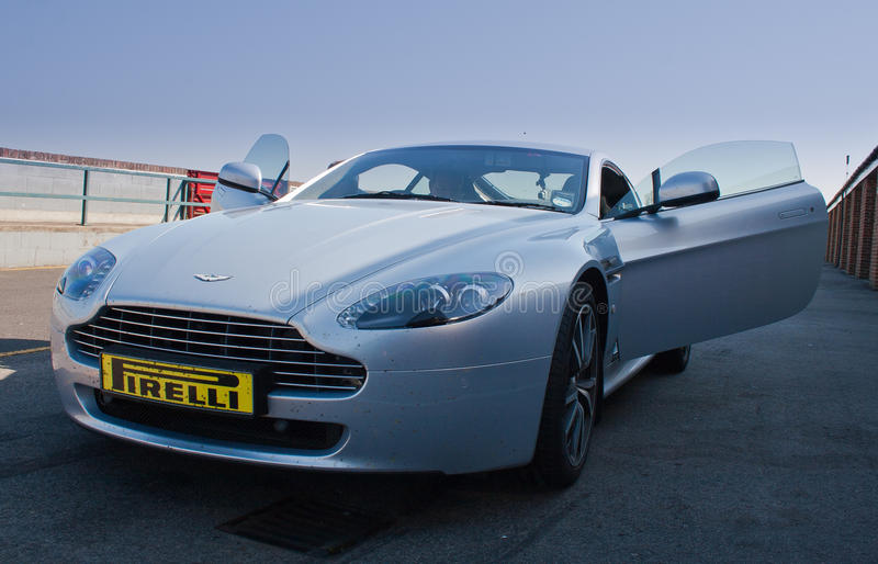 Download Aston Martin V8 Vantage editorial stock image. Image of performance - 25000249