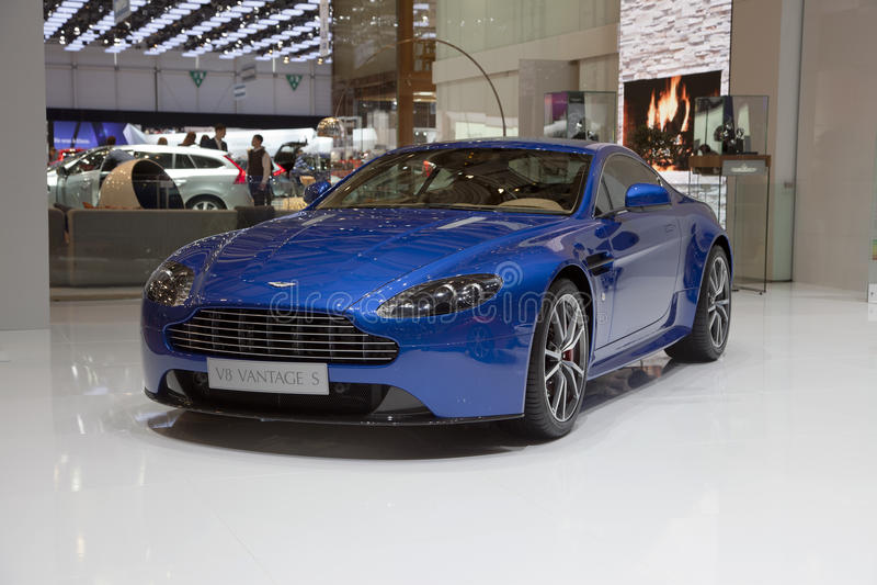 Aston Martin V8 Vantage S stock images