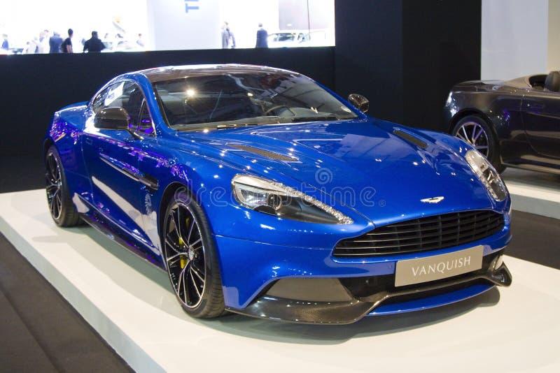 Aston Martin Vanquish fotografie stock libere da diritti