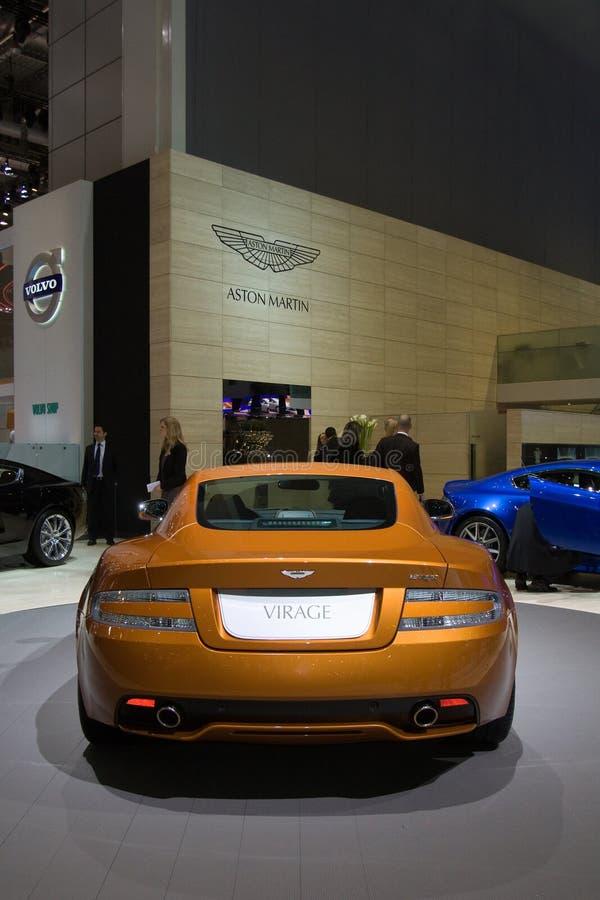Download Aston Martin Virage World Premiere - Geneva 2011 Editorial Stock Photo - Image: 18613943