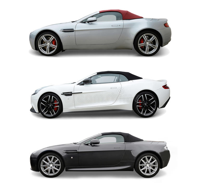 Aston Martins immagini stock libere da diritti