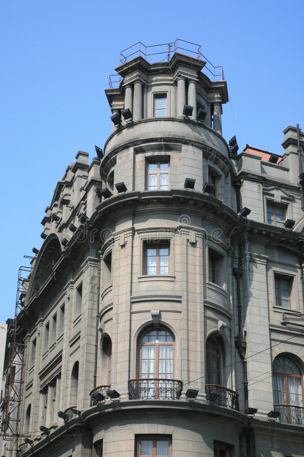 astor旅馆房子上海 免版税图库摄影
