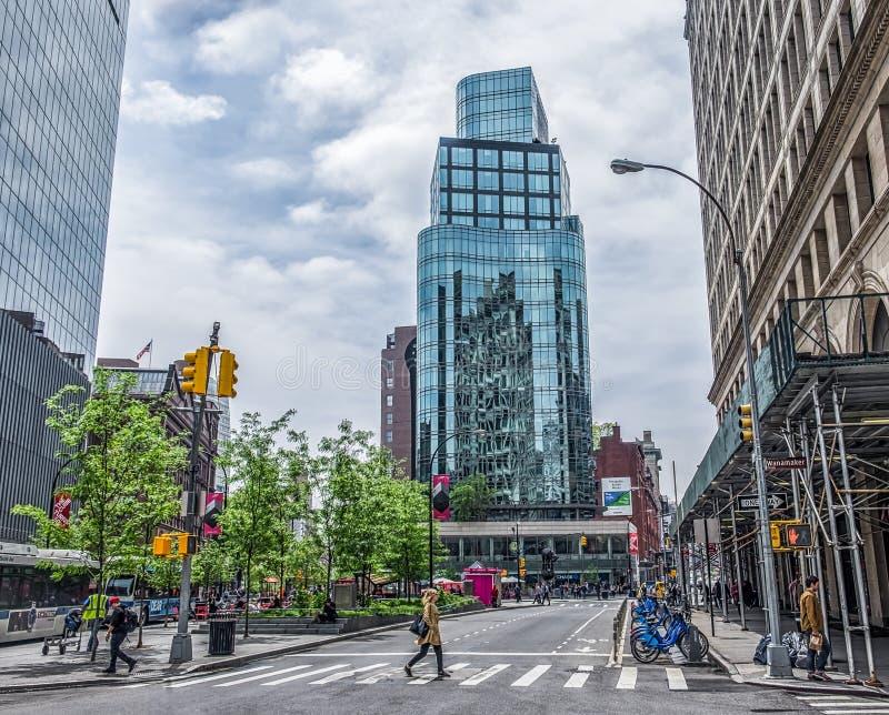 Astor Place Tower stock photos