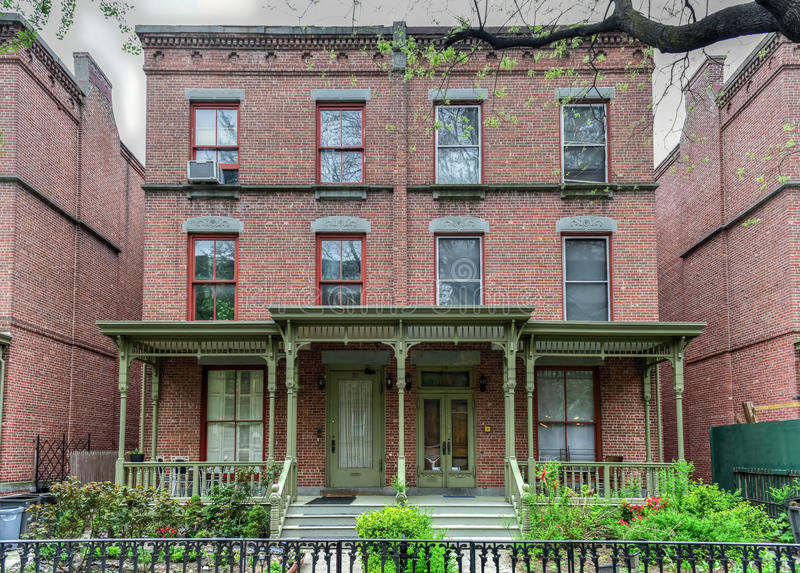 Astor Row - New York City imagen de archivo libre de regalías