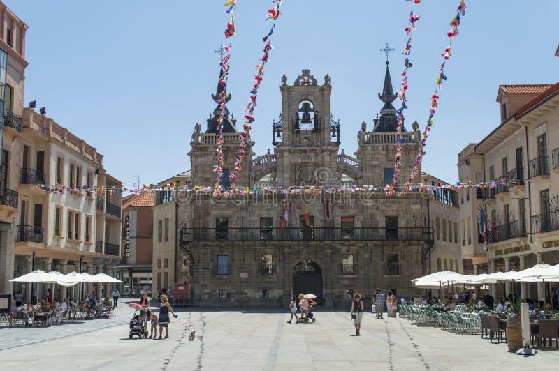 Astorga fotografia stock
