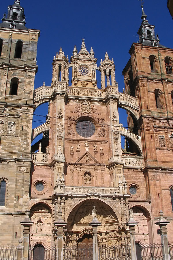 Download Astorga cathedral stock photo. Image of spanish, religious - 174218
