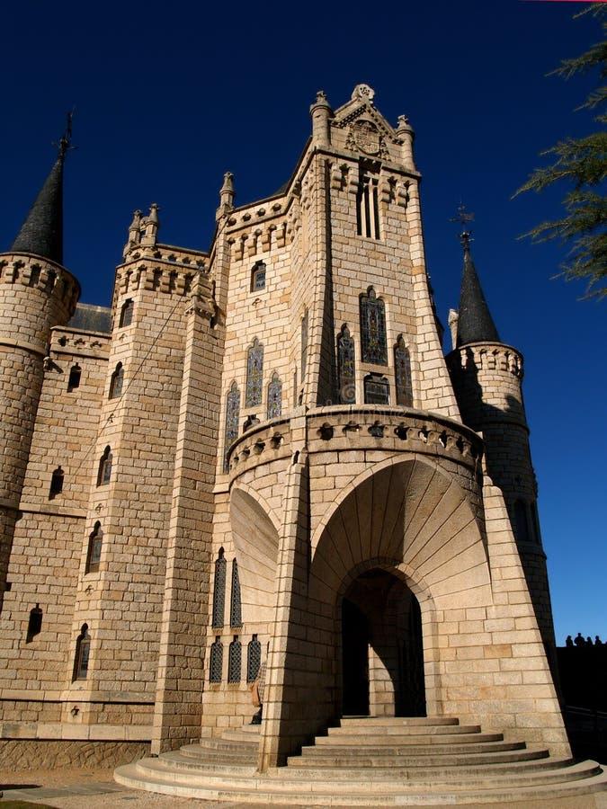 Astorga-episkopaler Palast lizenzfreies stockbild