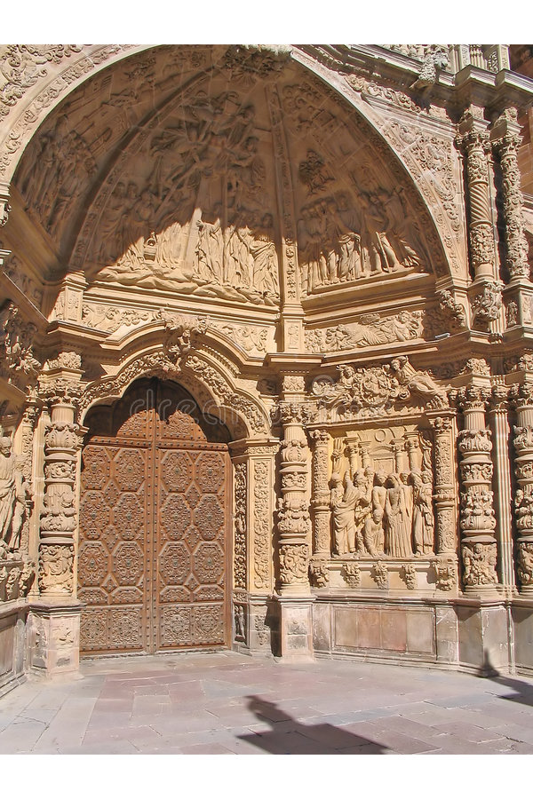 Astorga Kathedraal - Spanje stock foto