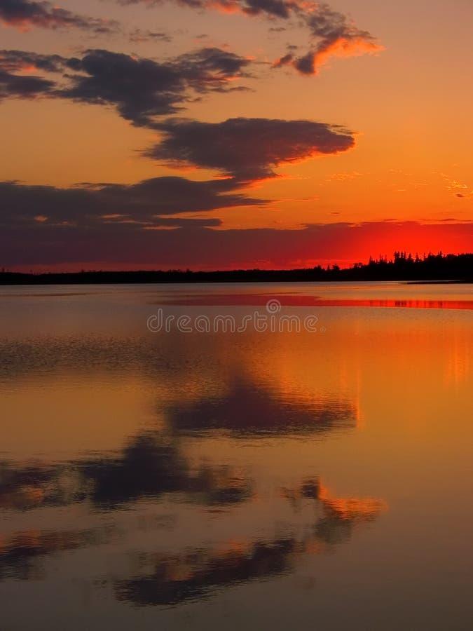 Astotin Sunset Royalty Free Stock Image