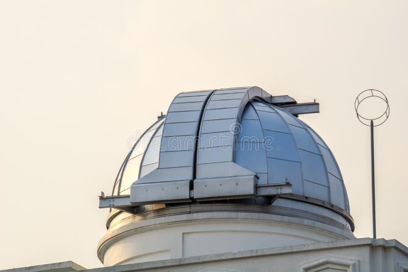 Astródomo del primer observatorio y planetario en Tailandia fotografía de archivo libre de regalías