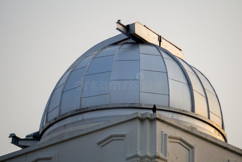 Astródomo del primer observatorio y planetario en Tailandia fotografía de archivo