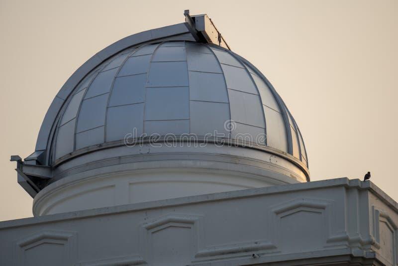Astródomo del primer observatorio y planetario en Tailandia imagen de archivo