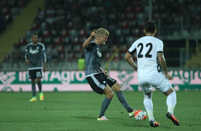 Astra Giurgiu contro f C Copenhaghen - turno di qualificazione della lega di campioni di UEFA terzo fotografia stock