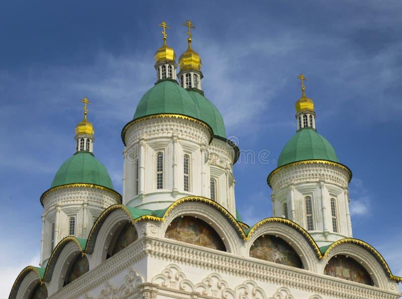 Astracã kremlin, Rússia fotos de stock royalty free