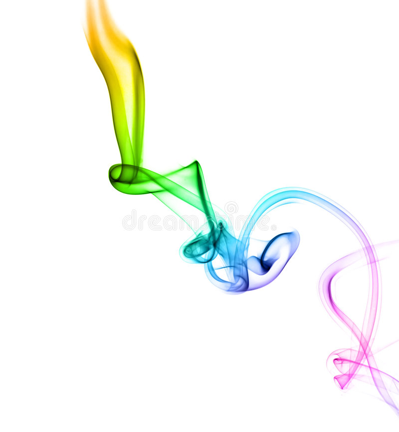 Download Astract colored smoke stock image. Image of curves, mist - 6645315