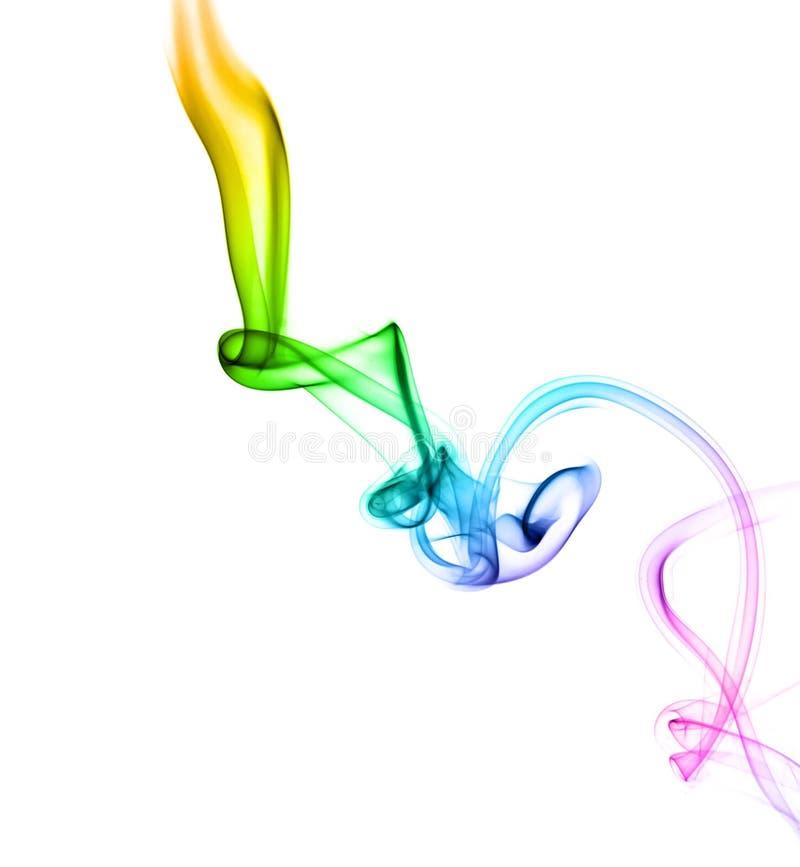Astract gekleurde rook royalty-vrije stock foto