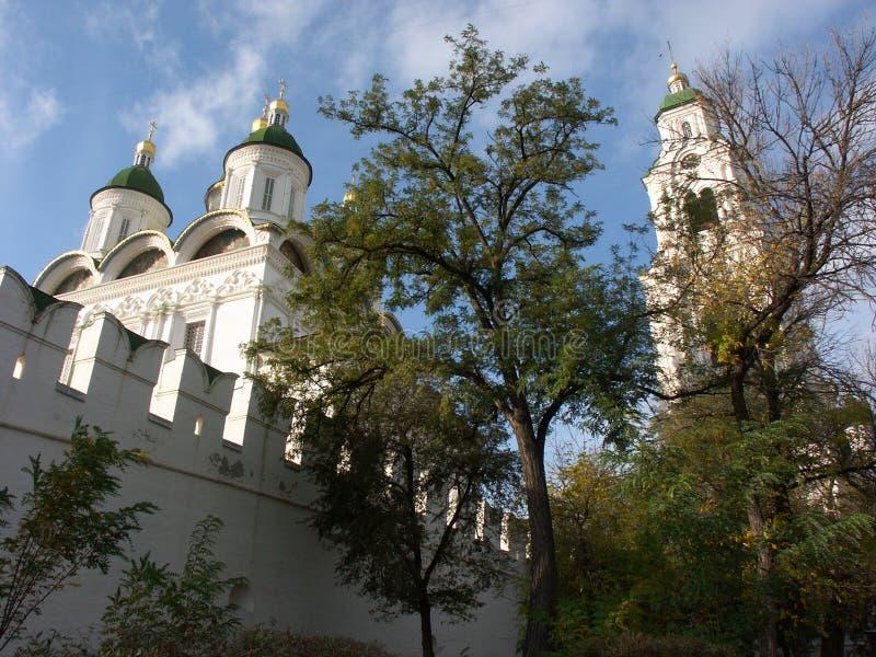 Astrakan het Kremlin stock afbeelding