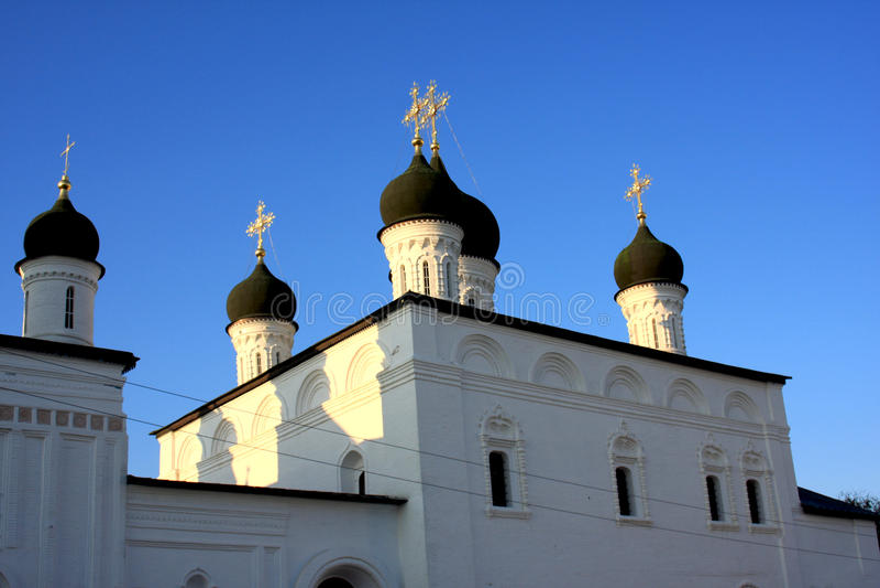 Astrakan het Kremlin in Rusland royalty-vrije stock foto's