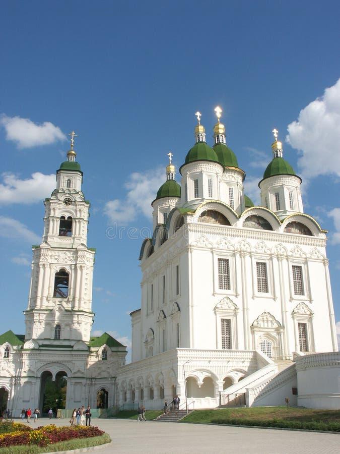 astrakhan Kreml Rosji zdjęcia stock