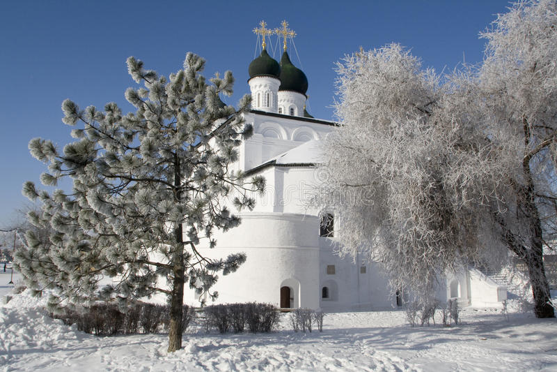 astrakhan kremlin fotografering för bildbyråer