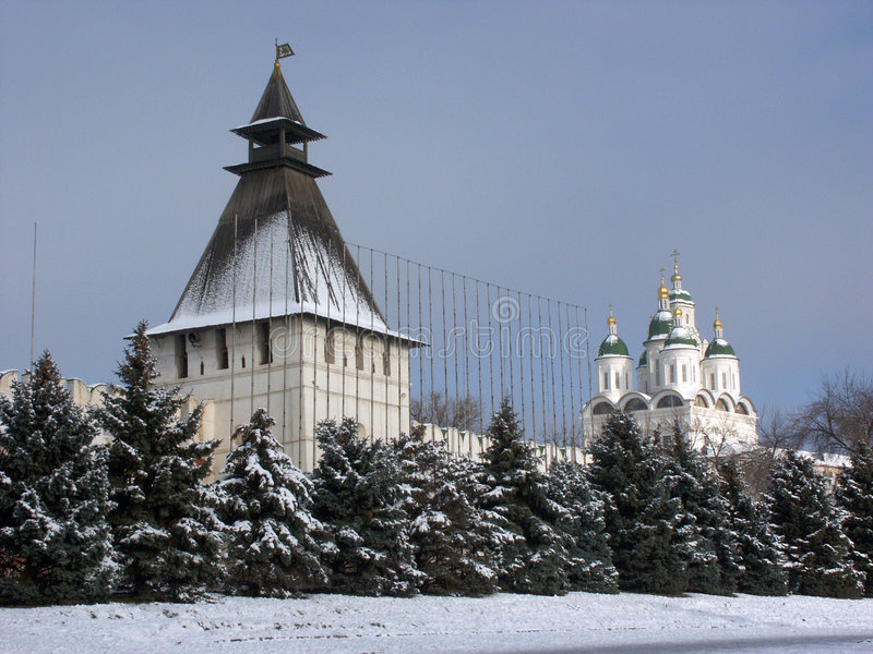 Download Astrakhan kremlin stock photo. Image of fortress, russia - 736810