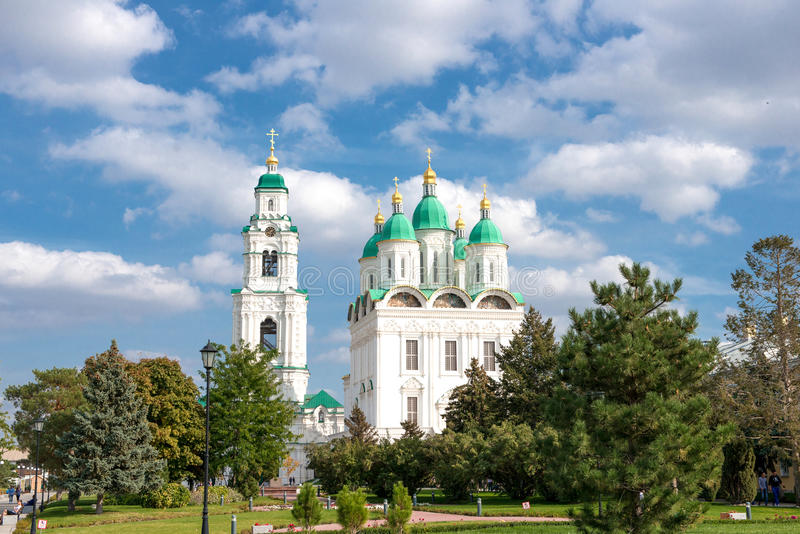 Astrakhan Kremlin stock photography