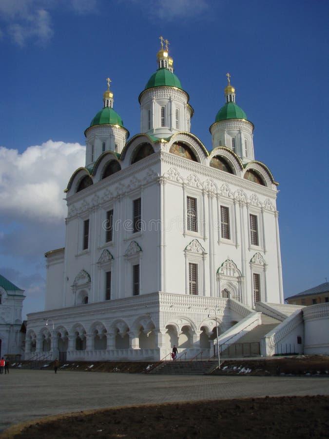 astrakhan kremlin _ Ryssland fotografering för bildbyråer