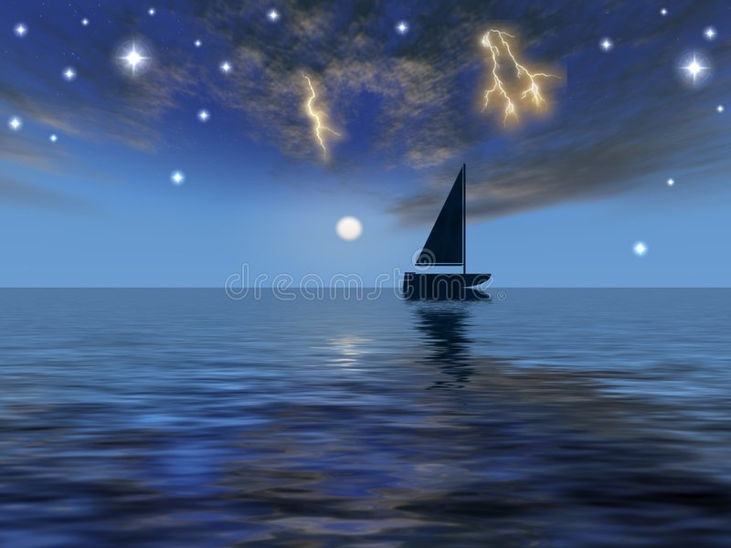 Download Astral stock illustration. Image of gale, captain, storm - 2650013