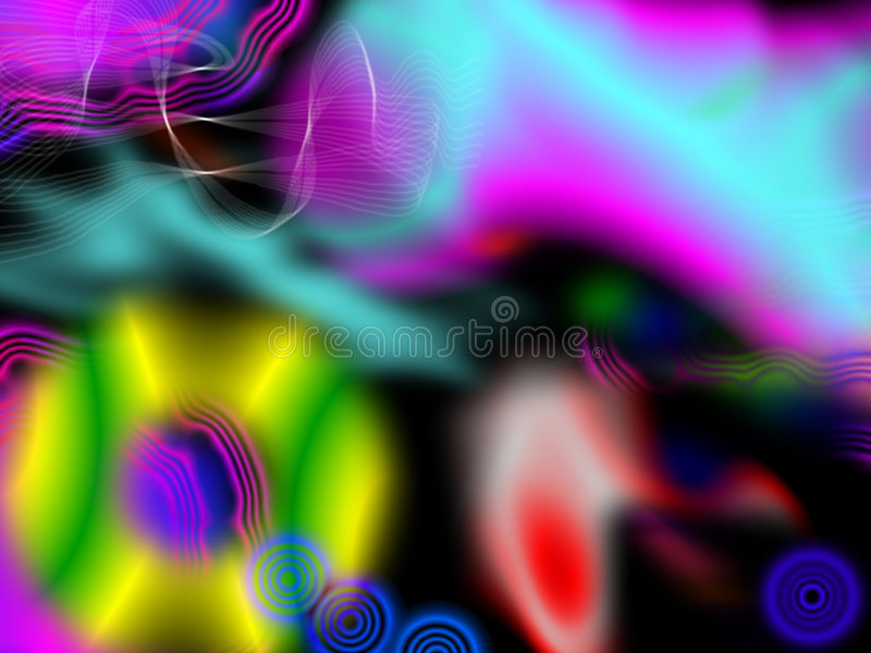 Download Astral Voyager Background stock illustration. Image of yellow - 5233187