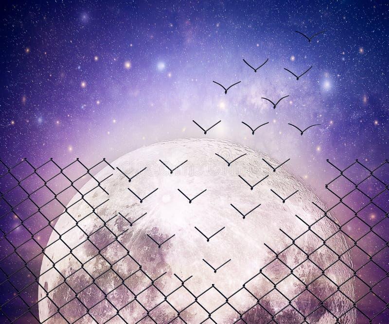 Astralna ucieczka zdjęcie royalty free