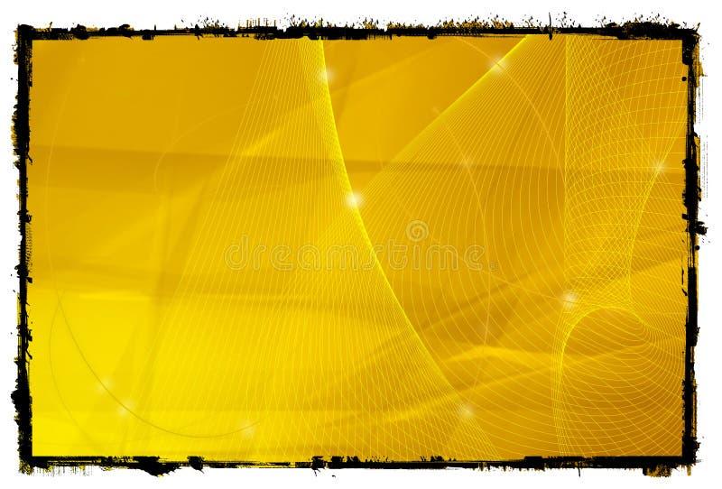 Astratto raffreddi le onde illustrazione vettoriale