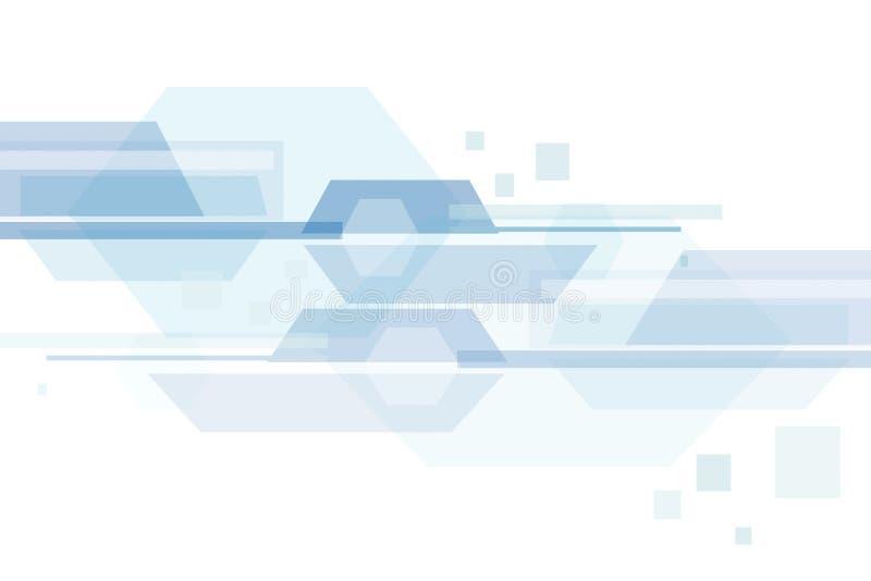 Astrazione alta tecnologia illustrazione vettoriale