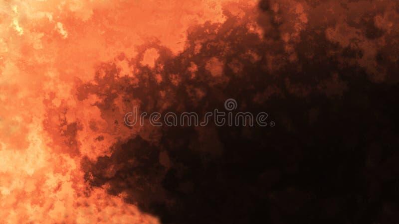 Astrazione arancione fotografia stock
