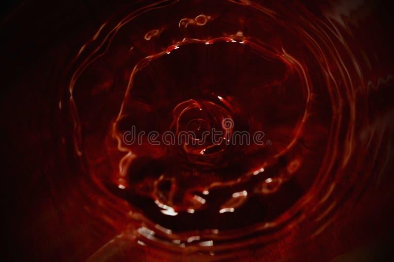Astrazione di vino rosso immagine stock