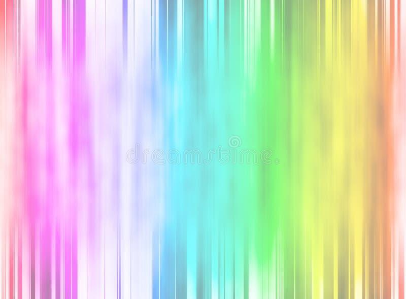Astrazione luminosa del fondo sfuocatura illustrazione di stock