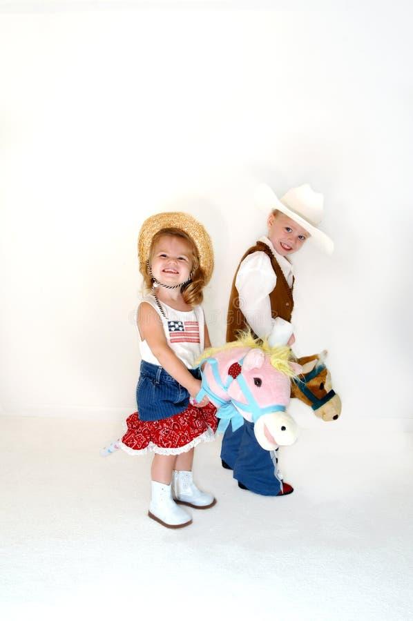 Astride My Pony Royalty Free Stock Photos