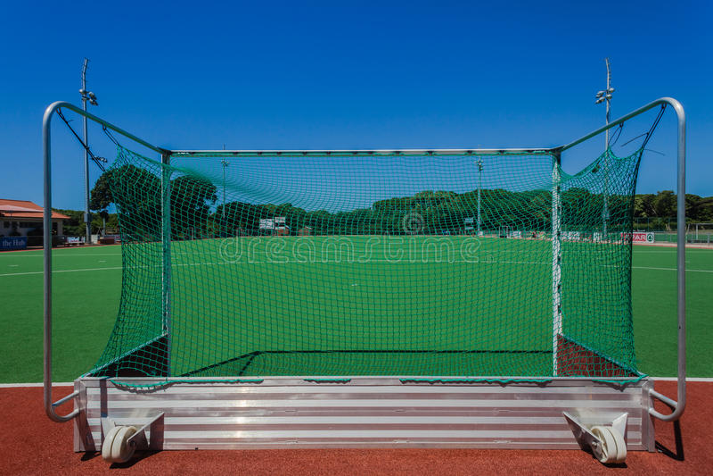 Astro Hockey Fields Goals stock photo