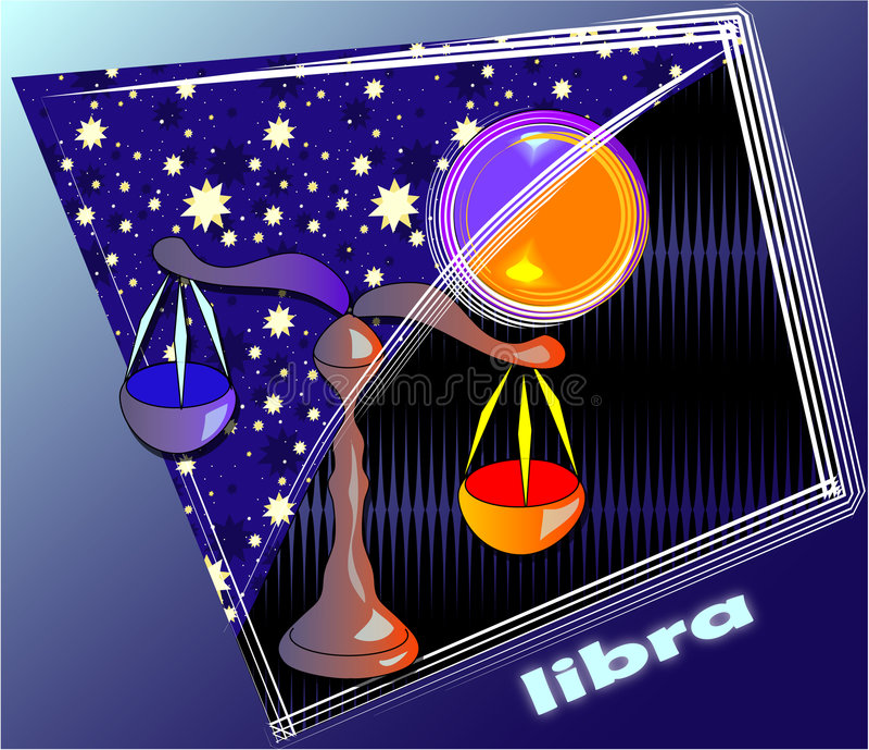 Download Astro libra stock illustration. Illustration of astronomy - 554212