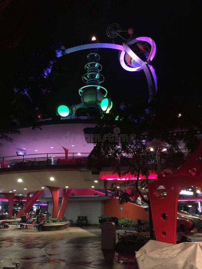 Astro-Orbiter bei Disney World, Orlando, Florida lizenzfreies stockfoto